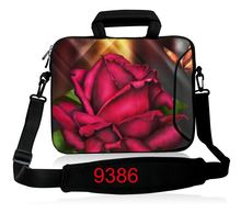 Crimson Rose 7 10 12 13 15 17 17.three inch Laptop computer Shoulder Bag Pouch Bag Pill Case Cowl For 7 15.6 13.three 17 17.three Dell HP ASUS