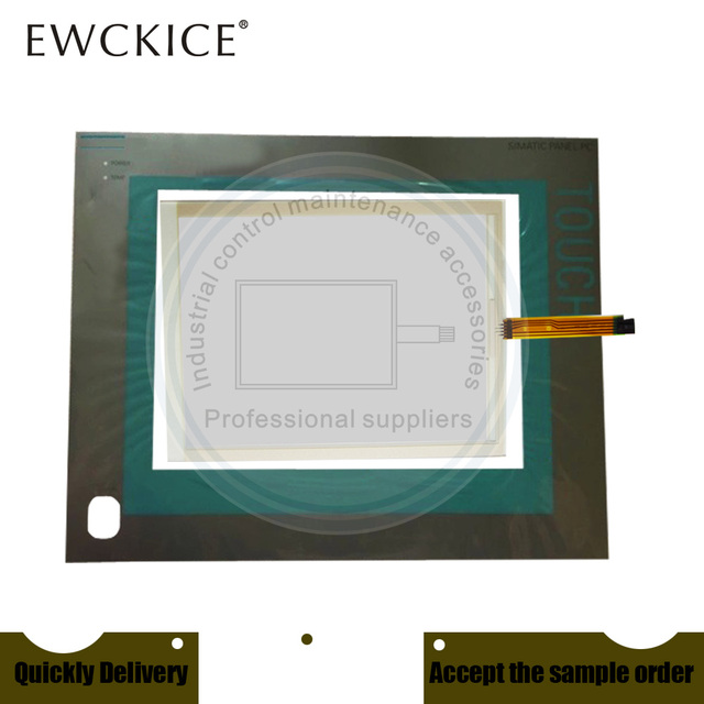 NEW PC477B 6AV7853 0AE20 1AA0 6AV7 853 0AE20 1AA0 HMI PLC Touch screen AND Front label Touch panel AND Frontlabel