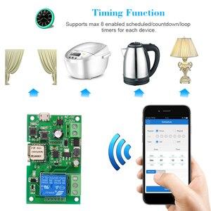 Image 4 - EWeLink Módulo de relé inalámbrico DC5V, 12V, 24V, 32V, Wifi, Control de aplicación remota para teléfono, módulo de automatización de domótica