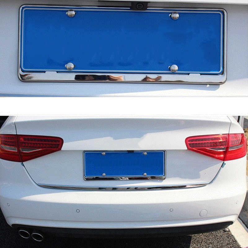 16X Xe số Biển Bu Lông bu lông Khung Chrome Ốc Vít cho Audi TÔI AH AH A8 A3 A4 A6 A5 q7 R A3 3 Cửa