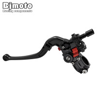 2017 New Universal 7 8 22MM Handlebar CNC Foldable Adjustable Cable Clutch Lever For Street Bike