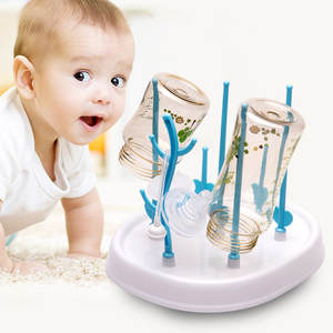 Bottle-Rack Drainer Drying-Rack Cleaning-Dryer Tree Baby 50pcs Stlye DHL Straight