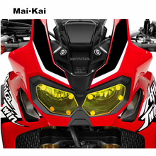 MAIKAI FOR HONDA CRF1000L(Africa Twin) 2015-2018 Motorcycle Headlight Protector Cover Shield Screen Lens