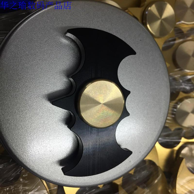 Fidget Hand Spinner EDC Batman Vorm Lager Speelgoed Hand Vinger Spinner Aluminum Alloy Stress Austism ADHD