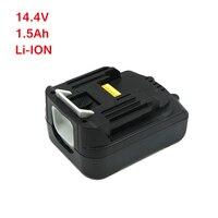 Wilderness Rechargeable batteries for Makita 1500mAh 14.4v Power Tool Battery BL1415 BHP440RFE BDF440RFE BTW250RFE