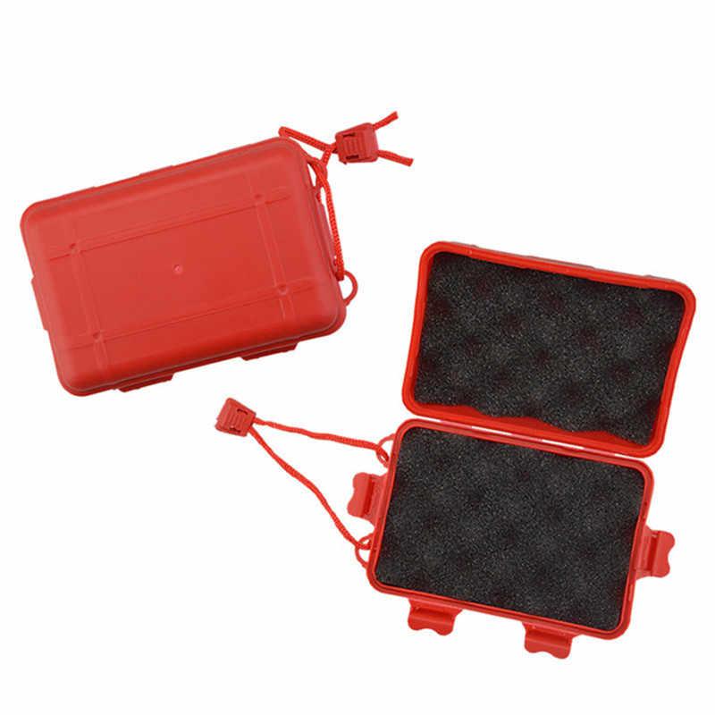 Archery Storage Box Broadhead Arrowheads Nocks Points Protector Sponge Portable
