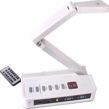 VE802AF 5MP VGA Infrared Receiver & HDMI Output Foldable Multidimensional Visual Presenter Can Connect to Electronic White Board