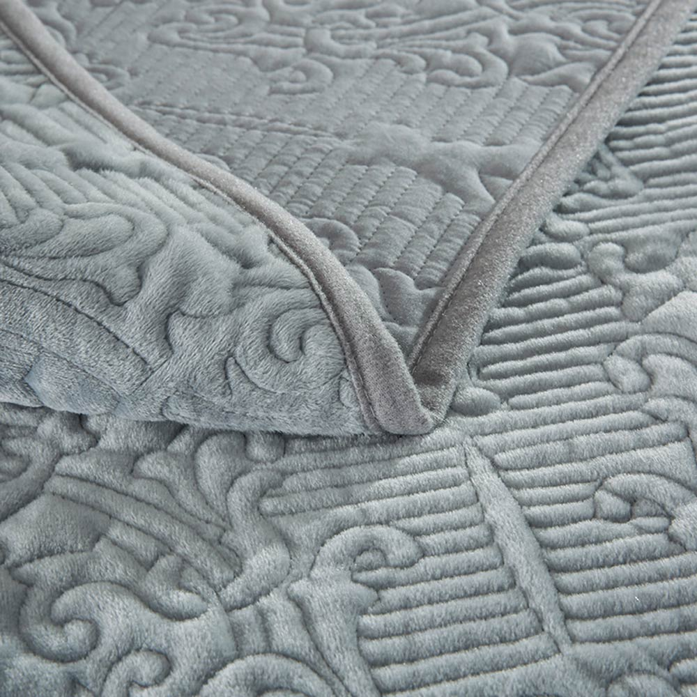 Svetanya النقش غطاء السرير سميكة غطاء سرير 230x250 سنتيمتر + 2 * سادات المفرش stiching و بيدكوفير-في مفرش سرير من المنزل والحديقة على  مجموعة 3