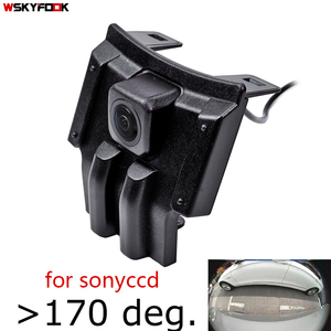 180deg fisheye CCD HD Car Front View Camera for Toyota LAND CRUISER PRADO 2018 2019 Prado 150 2020 front grille camera AHD CVBS