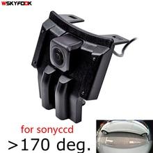 Colose 180deg рыбий глаз CCD HD автомобиль вид спереди Логотип камера для Toyota LAND CRUISER PRADO Toyota 2018 передняя решетка камера водостойкая