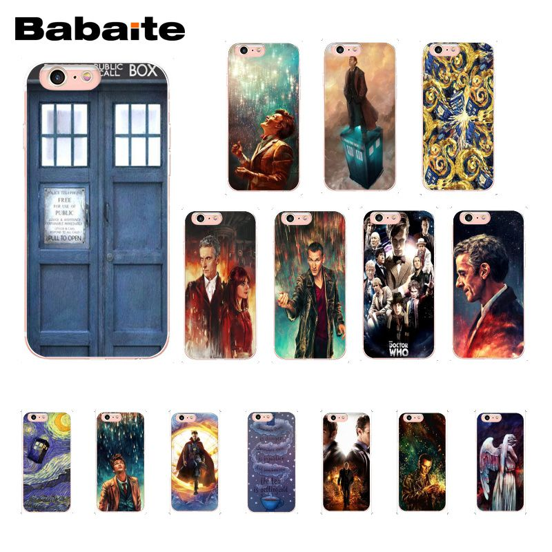 Tardis Doctor Dr Who Police Box Phone Case for iphone 12 11 Pro Max 8 7 6 6S Plus X XS MAX 5 5S SE XR
