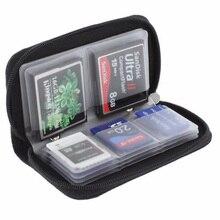 HC MMC CF 22 слота для карт памяти Micro SD для хранения карт, сумка, чехол, держатель, защитный кошелек