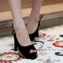 2017 Real Sale Ladies Shoes Fashion Big Size 28-50 Shoes Women Sandals Platform Feminino Summer Style Chaussure Femme B-2