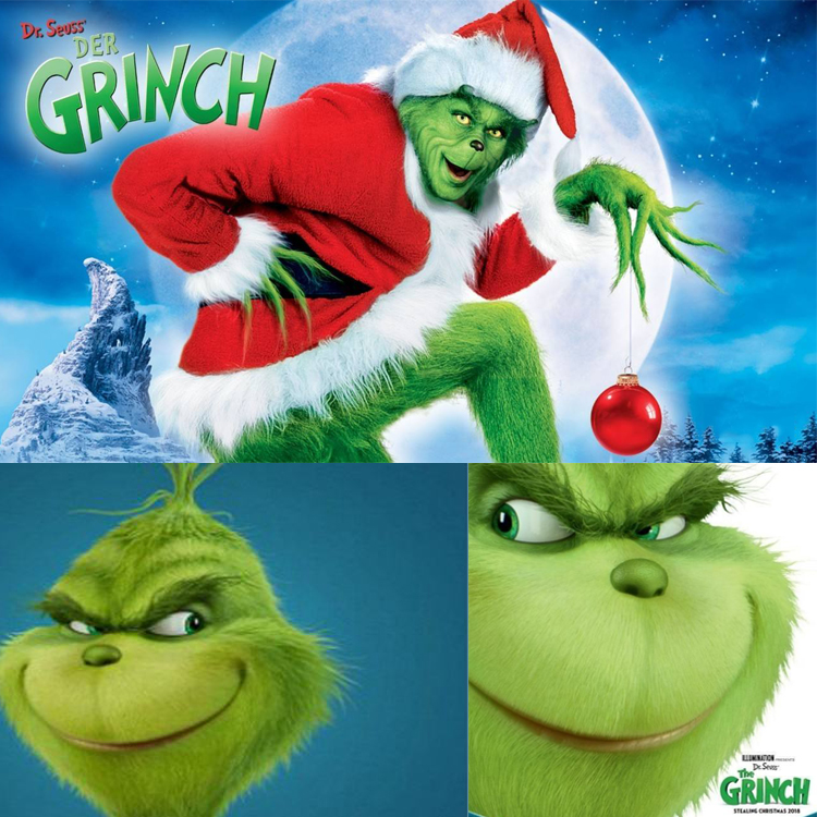 The Grinch Who Stole Christmas Movie.Christmas The Grinch Mask Movie How The Grinch Stole
