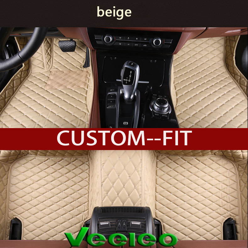 2018 Infiniti Qx30 Interior: Veeleo 6 Colors Leather Car Mats For Infiniti QX30 2017