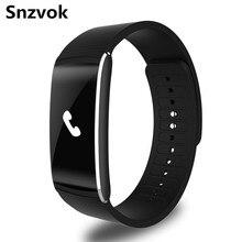 Snzvok Z6PLUS умный браслет bluetooth смарт браслет шагомер sleep monitor монитор сердечного ритма sport подарок для делового человека