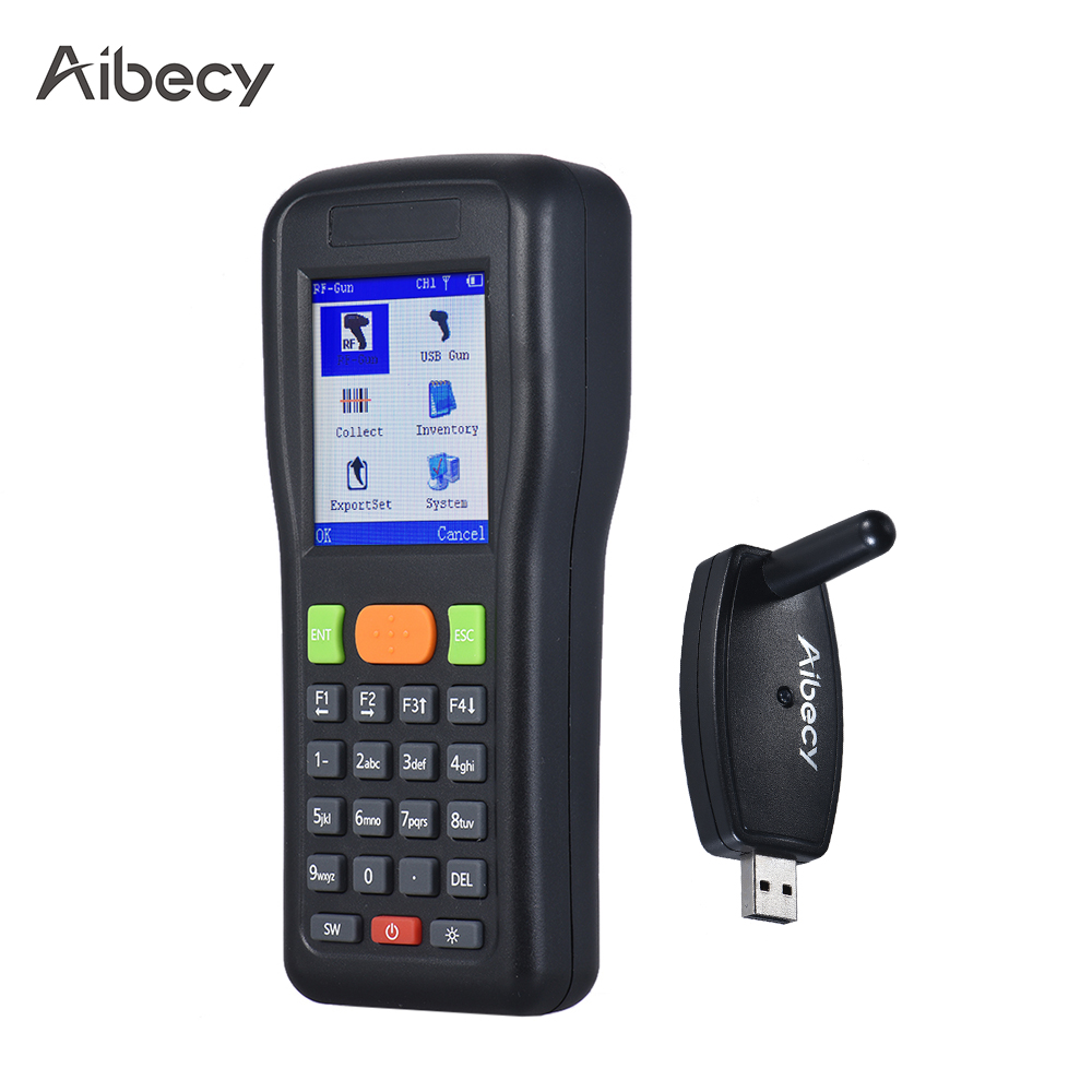 2018 NEW Aibecy LM3306 Handheld Inventory Data Terminal Collector Wireless/Wired Barcode Scanner PDT 1D Bar Code Scanning Engine original 1d laser barcode handheld scanner bluetooth android rugged mobile data terminal pda nfc 3g data collector 1 sim card 2d