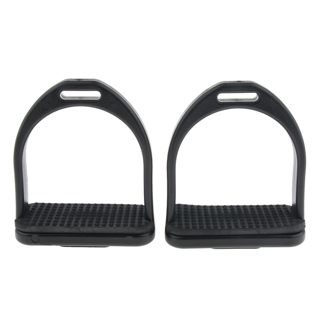 Premium High Strength Plastic Lightweight Horse Riding Stirrup Rubber Treads Horse Riding Safety Stirrup Western Stirrups