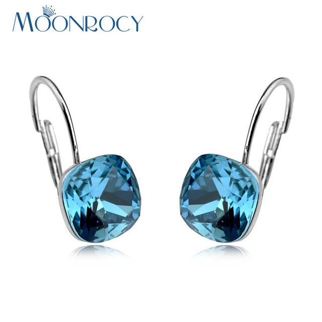 MOONROCY Free Shipping fashion jewelry wholesale Earring Rose gold