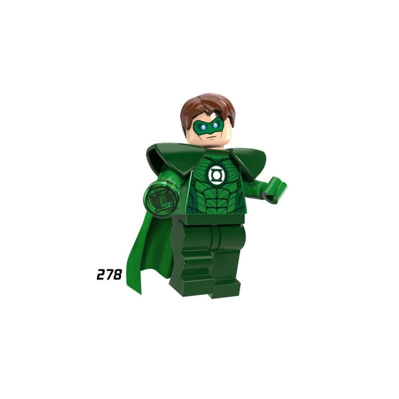 Single Sale Super Heroes Star Wars 278 Green Lantern Model Mini Building Blocks Figure Brick Toys Gift Compatible Legoed Ninjaed