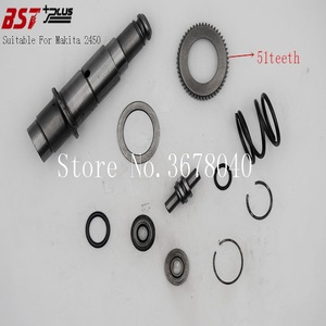 Image 3 - 11PCS=A SET SLEEVE TOOL HOLDER REPLACEMENT SUITABLE FOR MAKITA 2450 ROTARY HAMMER,POWER TOOLS ACCESSORIES