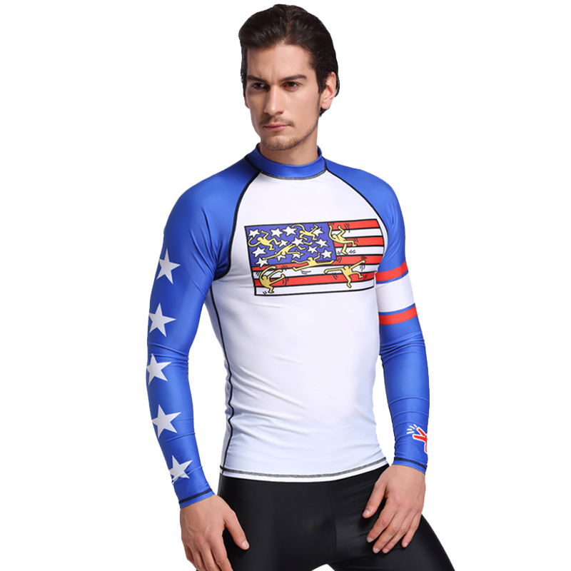 SBART 2017 Long Sleeve Wetsuit Swimwear Men Women Rash Guard Swim Suit Surfing Wetsuits For Spearfishing Diving Suit Surf Swims