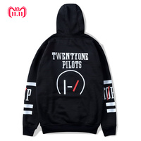 Twenty One Pilots Band Streetwear Harajuku Lovers Men Hooded Sweatshirts Plus Size Hoodies Riverdale Hip Hop Sweatshirts Women