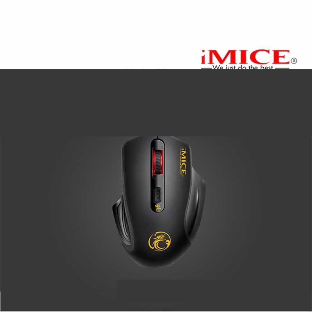 2000 dpi Mute оптическая компьютерная игра мыши бесшумный клик беспроводная мышь 4 кнопки высококлассные игроки и игровые профессионалы
