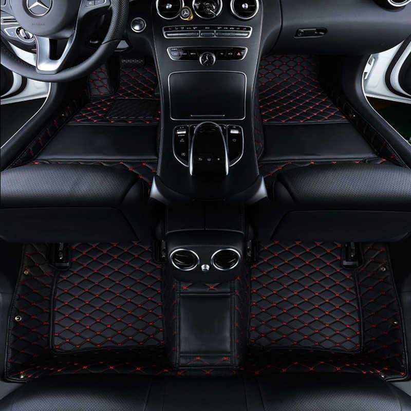 Biểu tượng tùy chỉnh thảm sàn xe đối với Rolls-Royce Phantom Ma tự động phụ kiện xe ô tô thảm
