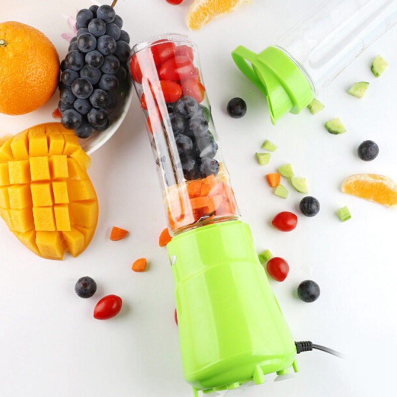 Electric Juicer Portable Mini Fruit Juice Mixer Drink Bottle Smoothie Maker Smoothie Blender For Household Travel