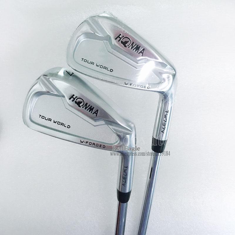 חדש Cooyute מועדוני גולף איירונס להגדיר TW737V HONMA גולף ברזל סט 4-910 מועדוני N S. PRO ZELOS 7 גולף פלדה פיר R משלוח חינם