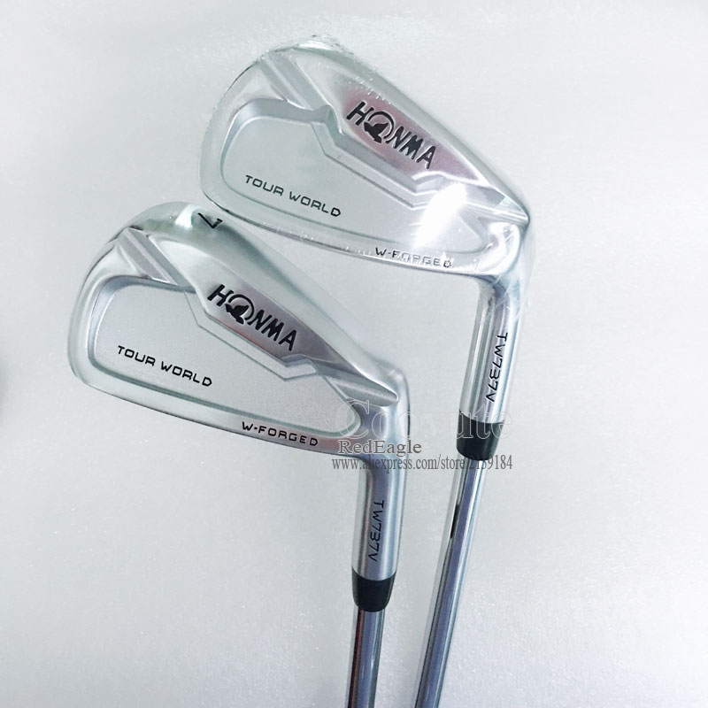 Nouveau Cooyute Golf Clubs fers HONMA TW737V jeu De fer de Golf 4-910 Clubs N S. PRO ZELOS 7 En Acier arbre De Golf R Flex livraison gratuite
