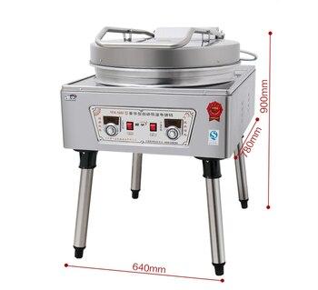 Коммерческая электрическая сковорода для выпечки, коммерческая машина для блинов, электрическая машина для выпечки блинов, YF-1680