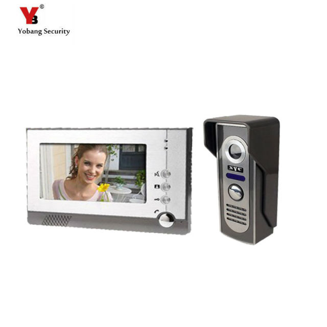 Yobang Security Doorbell Phone Video Intercom System Multi Unit