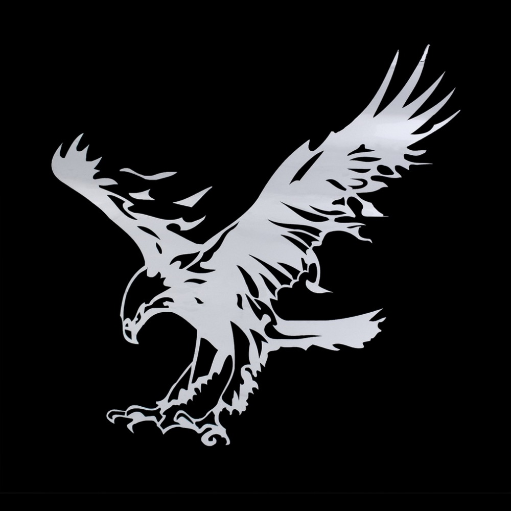 New Arrival Animal big eagle Car Stickers for Cars suv door Acessories Decoration waterproof PVC car stickers free shipping