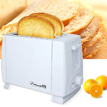 Glantop 220V Household Toaster Breakfast 2 Pieces Bread Toasting Machine Fully Electric Toasters
