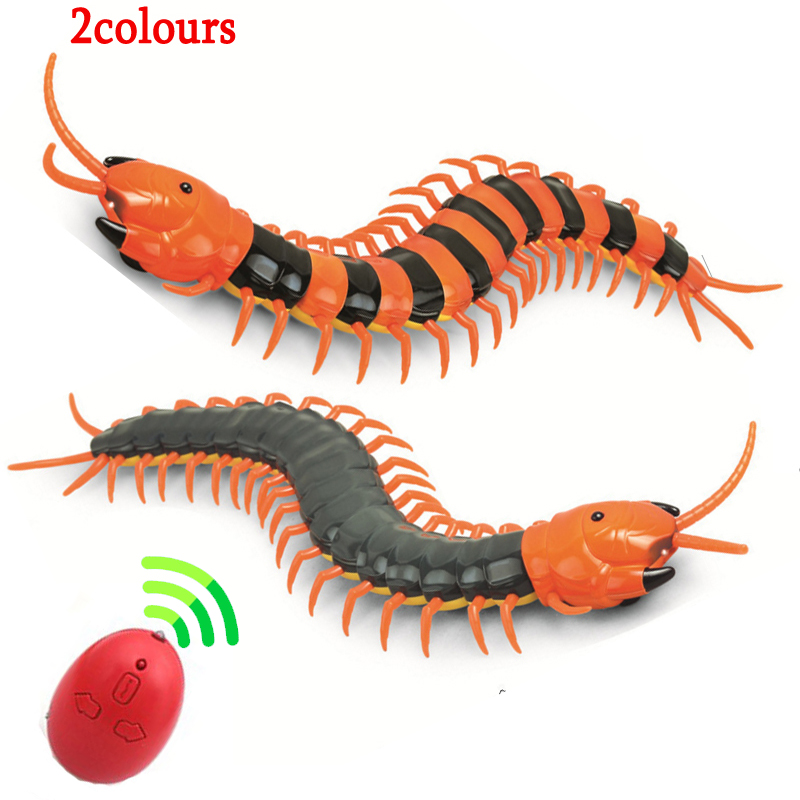 1 Pcs New Electric RC Centipede Fake Insect Remote Control Centipede Creative Electric Animal Prank Toys Tricky Funny Kids Gifts