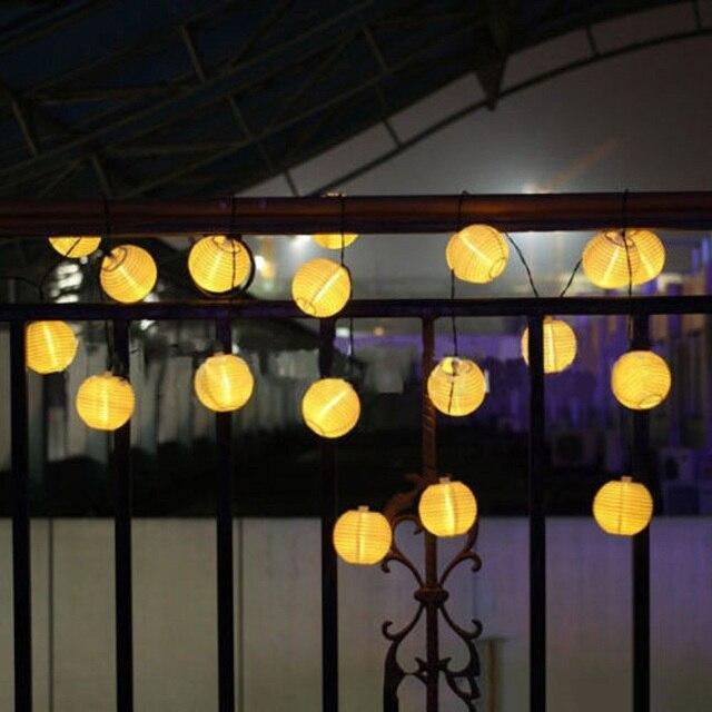 WOXOYOZO 10 LED Imperméable À L\'eau L\'énergie solaire Cordes ...