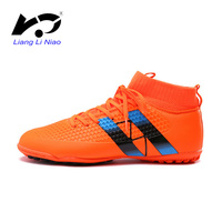 High Quality Men Soccer Cleats Professional TF High Ankle Football Boots Superfly Original Indoor Soccer Shoes