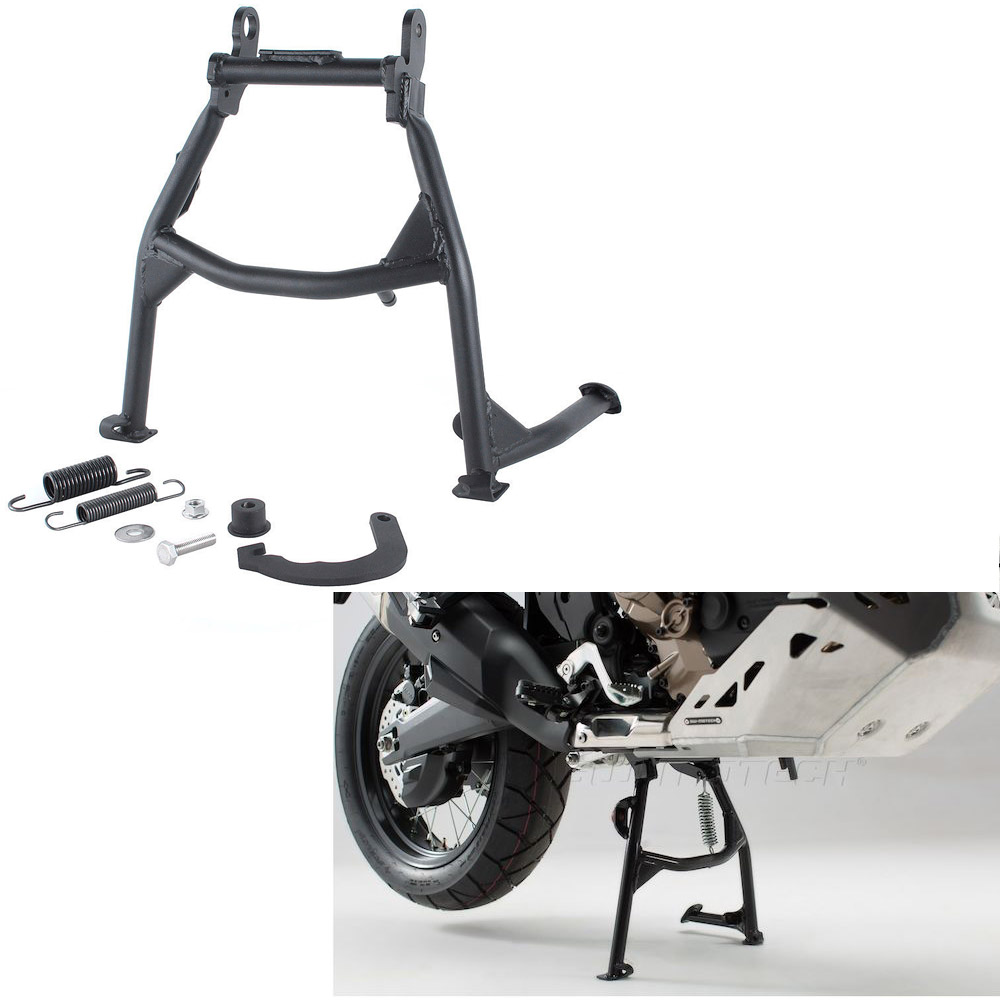 Motorcycle Black Steel Center Foot Stand Mounting Centerstand for 2016 2018 Honda CRF 1000 L CRF1000