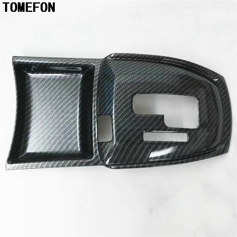 Car Accessories For Nissan X-Trail Rogue T32 2014 2015 2016 Center Console Gear Shifter Gearshift Selector Trim Cover X Trail