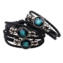 New arrival Zodiac 12 Constellation Bracelet