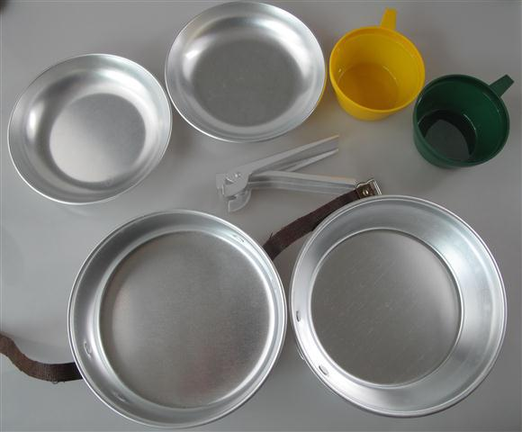 <font><b>light</b></font> <font><b>weight</b></font> Compact <font><b>aluminum</b></font> aluminium 2 person cook set <font><b>camping</b></font> Cooking Pot Pan Sets with plastic <font><b>cup</b></font>