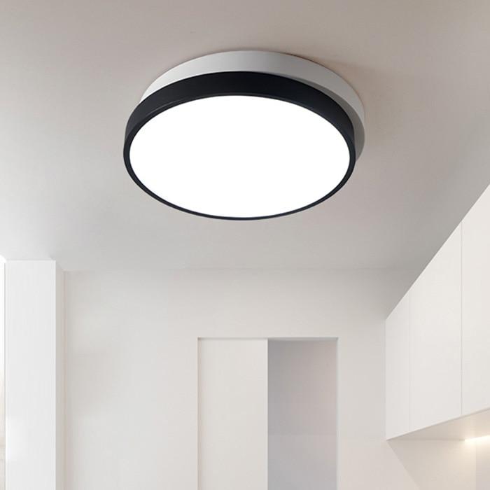 все цены на P280 - 280 Modern Simple Round Acrylic LED Ceiling Light for Living Room Restaurant онлайн