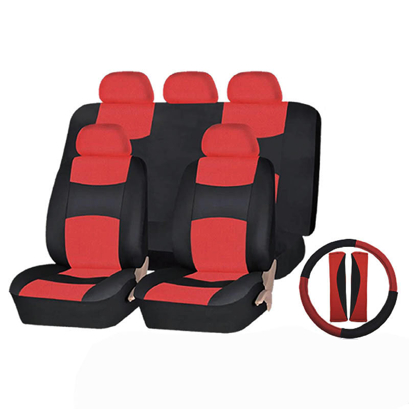 Carnong housses de siège de voiture en cuir pu universel étanche airbag disponible set couverture arrière splité 40/60 50/50 pour la plupart des 5 sièges de voiture
