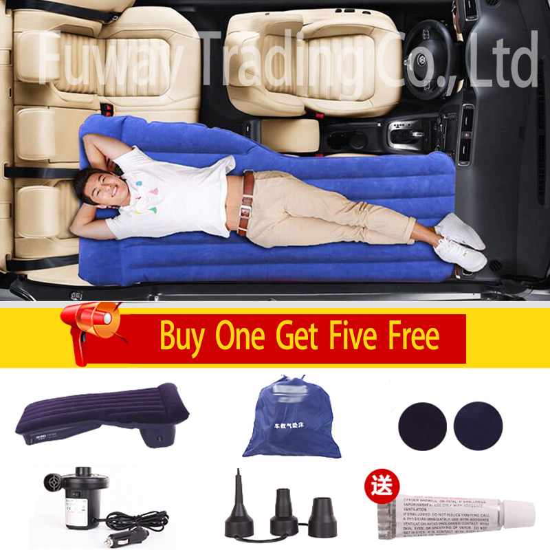 DHL 2016 Car Back front Seat Cover Car Air Mattress Travel Bed Inflatable Mattress Air Bed High Quality Inflatable Car Bed dhl for all cars universal car travel bed car back front car air mattress travel bed inflatable mattress air bed good quality