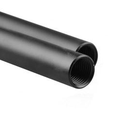 2 sztuk FOTGA 50 cm standardowa długość 15mm pręty aluminiowe do lustrzanek cyfrowych pręt szyny systemu