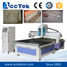 AccTek new design wood cutting machine price1530 cnc lathe with reasonable price
