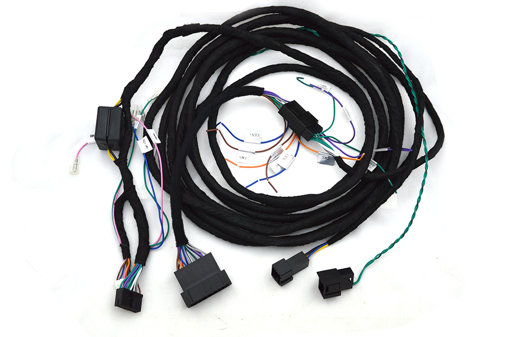 Escome Special Power Cables For The MERCEDES-BENZ Optical Fiber Amplifier Sell With Our Car DVD Only