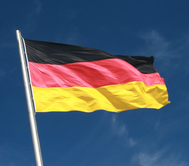 germany flag polyester flag banner for festival home decoration
